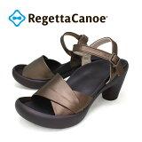 RegettaCanoe -リゲッタカヌー-CJBN-5735 バナナヒール 折り紙デザインサンダル