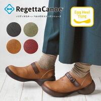 RegettaCanoe-リゲッタカヌー-CJEG-6106エッグシューズベルトつきスリッポンシューズ