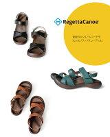 RegettaCanoe-リゲッタカヌー-CJFD-5326フィールドソールクロスベルトストラップサンダル