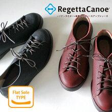 RegettaCanoe-リゲッタカヌー-CJFC-7105フラットソール本革メンズレースアップシューズ