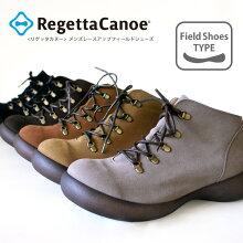 RegettaCanoe-リゲッタカヌー-CJFS-6904フラットシューズレースアップショートブーツ