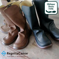 RegettaCanoe-リゲッタカヌー-CJOS-6307オブリックシューズカジュアルロングブーツ