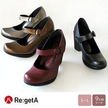 Re:getA-リゲッタ-SCR-091リゲッタワンストラップパンプス