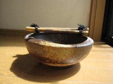 水鉢信楽焼き【送料無料】窯肌刷毛つくばい【蹲】 水の癒し 【ギフト 贈り物】
