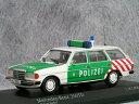 ミニチャンプス 1/43 メルセデス ベンツ 250TD ( S123 ) / ベルリン ポリス 1982