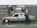 ミニチャンプス 1/43 メルセデス ベンツ 500 SEL ヘルムート コール ドイツ連邦共和国 第6代首相