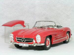ミニチャンプス 1/18 メルセデス ベンツ 300 SL ロードスター ( W198-2 ) / 1957年 レッド