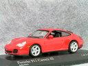 ミニチャンプス 1/43 ポルシェ 911 ( 996 ) カレラ 4S / インディス レッド
