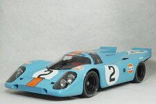 ミニチャンプス1/12スケールポルシェ917KJ.W.エンジニアリングガルフポルシェ1970年デイトナ24時間優勝車#2