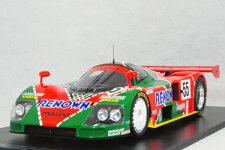 スパークミニカー1/18スケールマツダ787B1991年ル・マン24時間優勝車#55