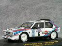 ixo 1/43 ランチア デルタS4 #6 マルティーニ 1985年RAC ラリー / ヘンリ・トイボネン