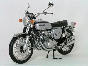 ミニチャンプス 1/12 スケールホンダ CB750 フォア1968年 シルバー / ブラック ライン