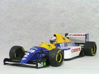 ミニチャンプス1/18ウイリアムズルノーFW15C/アラン・プロスト1993年ワールドチャンピオン