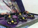 ミニチャンプス 1/43 セバスチャン・ベッテル F1 レッド ブル レーシング ワールド チャンピオン - 2010 - RB6 / 2011 - RB7 /...