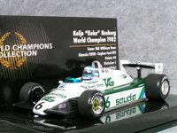 ミニチャンプス1/43ウイリアムズフォードFW08ケケ・ロズベルグ/1982年スイスGP1982年ワールドチャンピオン
