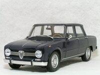 ミニチャンプス1/18アルファロメオジュリア1300スーパー/1966年ダークブルー