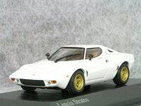 ミニチャンプス1/43ランチアストラトスストラダーレ/1974ホワイト