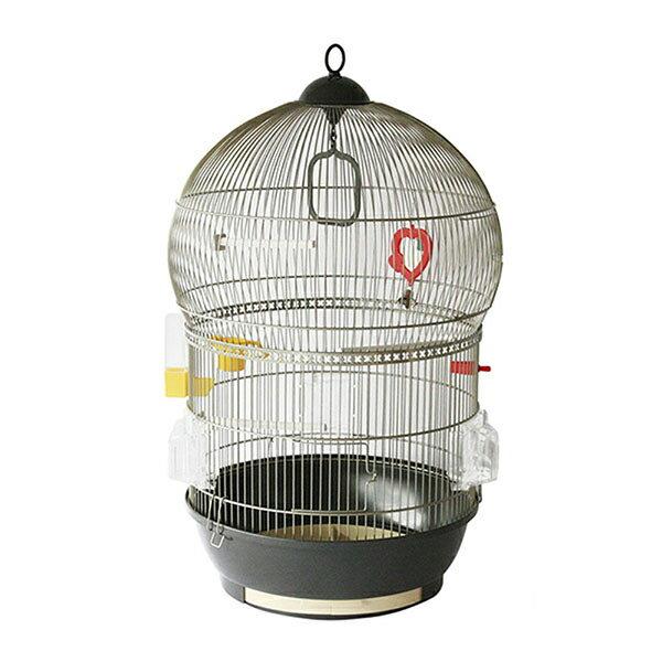 イタリアferplast社製 バリ アンティークブラス鳥かご