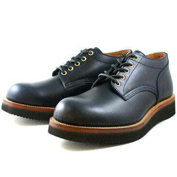 Locking Shoes ロッキングシューズ by FootMonkey フットモンキー 5HOLE OXFORD SHOES 1015 日本製 本革 メンズ 5ホール オックスフォードシューズ ネイビースムース 送料無料