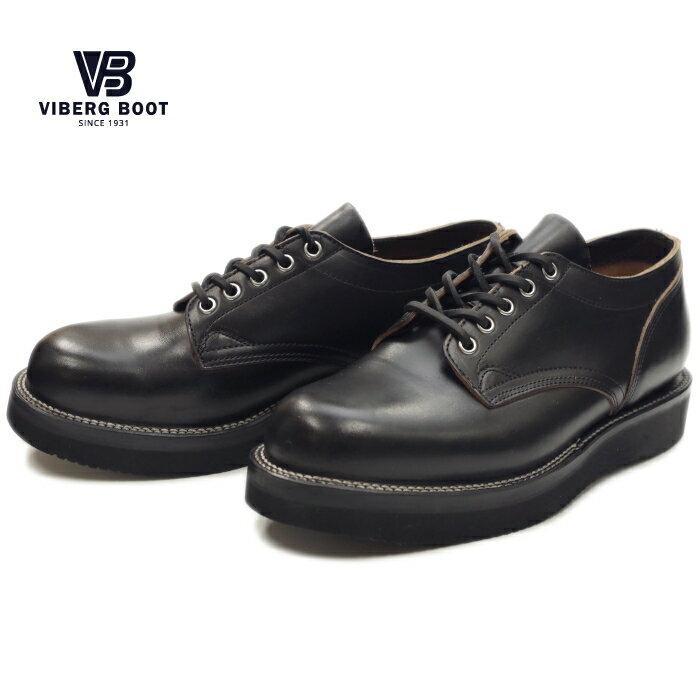 ヴァイバーグ VIBERG ブーツ ヴィバーグ ビバーグ BOOTS OLD OXFORD ワークブーツ 〔ブラッククロムエクセル14〕 ブーツ ヴィバーグ ビバーグmen