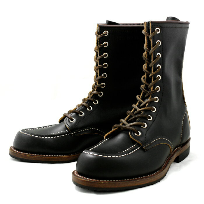 Black Red Wing Boots - Cr Boot