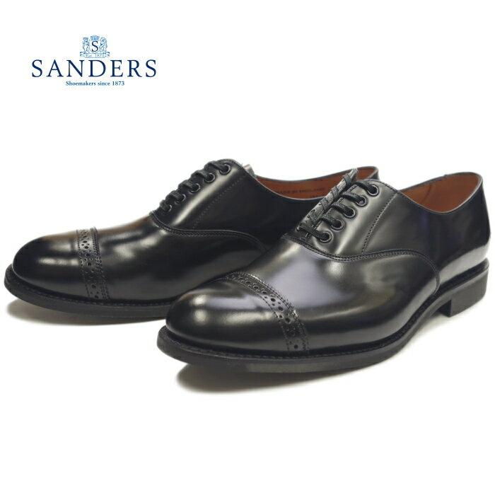 メンズ靴, ビジネスシューズ  SANDERS 1947 MILITARY PUNCHED CAP OXFORD