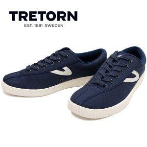 トレトン TRETON mt NYLITE PLUS B [NIGTH/NIGTH/WHITE]ナイライト プラスビー キャンバス スニーカー メンズ ローカット sneaker