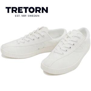 トレトン TRETON mt NYLITE PLUS B [VINTEGE WHITE/VINTEGE WHITE] ナイライト プラスビー キャンバス スニーカー メンズ ローカット sneaker