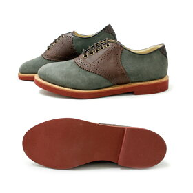 ウォークオーバーWALKOVERSADDLESHOESサドルシューズ[グレー/ブラウン]メンズWALKOVERMadeinUSAスエードカジュアル靴通販men'sshoes送料無料