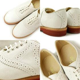 ウォークオーバーWALKOVERSADDLESHOESサドルシューズ[ホワイト]メンズWALKOVERMadeinUSAスエードカジュアル靴通販men'sshoes送料無料