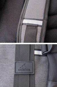 adidasアディダススクエアデイパック(リュック・スクールバッグ)大容量収納/28L/クロ×グレー/丈夫/部活/通学鞄/高校生/中学生/YC59032