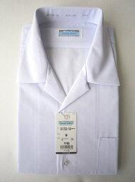 男子開衿シャツ 半袖 TOMBOW 半袖スクールシャツ トンボスクールシャツ 開襟/白/定番
