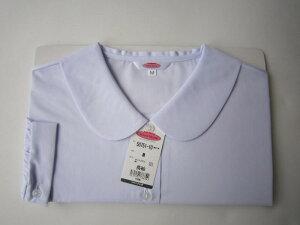 【ネコポスOK】中高生用女子ブラウス長袖スクールブラウス(丸衿・平衿)BS〜BLLTOMBOW school blouse