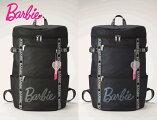Barbieバービーラウンドスクエア型デイパック/リュック/ディパック/スクールバッグ/部活/通学鞄/高校生/中学生