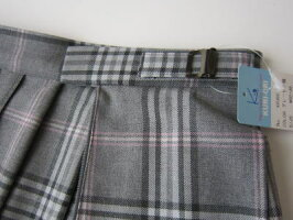 KURI-ORIスクールスカートクリオリチェックプリーツスカート