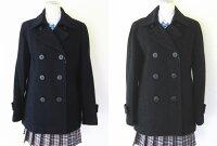 MICHELKLEINScolaireミッシェルクランスコレール台衿付きピーコートMKS143