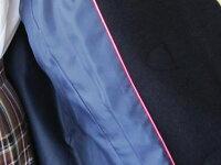 スクールダッフルコート前ファスナー付き♪(ネイビーブラックダークグレー)SweetTeenカンコー学生服