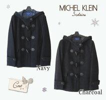 【マフラープレゼント】MICHELKLEINScolaireミッシェルクランスコレールショートダッフルコートMKS146
