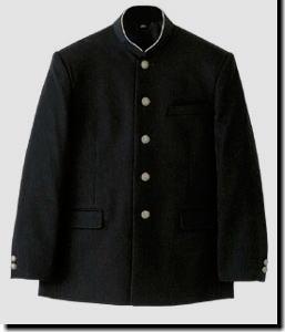 学生服上衣【A体】 ヒロミチ・ナカノ スクールウール混素材 ソフトインカラー:スクールショップコヤマ