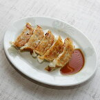 北京 9吋ギョウザ皿 中華食器 プラター(M) 業務用 楕円皿 日本製 磁器 約22.5cm 中華皿 餃子皿 ギョーザ皿 餃子用 楕円プレート 小判皿 オーバル