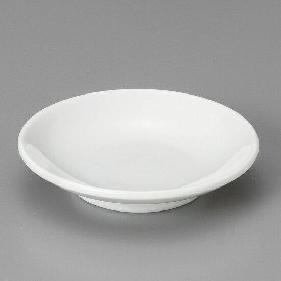 白厚口3.3皿 中華食器 小皿・タレ皿 業務用 日本製 磁器 約10.2cm たれ皿 餃子用 ギョーザ用 漬物用 キムチ用 ザーサイ用 シューマイ用 白 シンプル プレーン 定番
