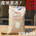 【新米】【無洗米5kg】【令和2年産・産地直送】岩沼みんなの家のみんなのお米(5kg)