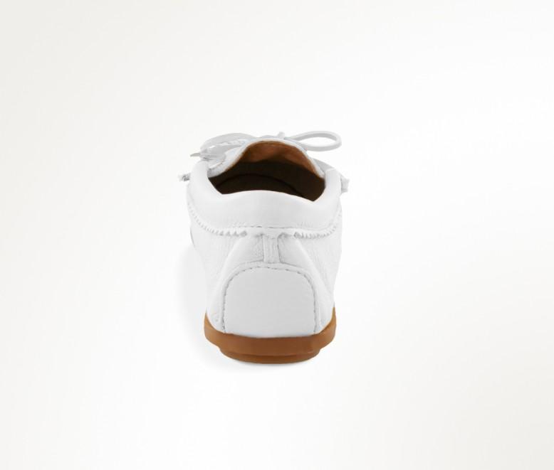 【ミネトンカ 公式】MINNETONKA ミネトンカ ディアスキン「DEERSKIN BEADED MOC」 レディースシューズ レディースモカシン 白 春  みねとんか ハンドメイド 刺繍 ビーズ