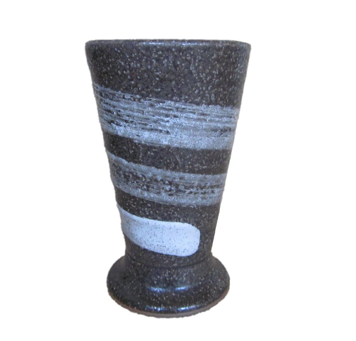 陶器 ビール ビア 酎ハイ ジョッキ グラス 刷毛 白 一筆 大容量 特大 サイズ アウトレット 修理品