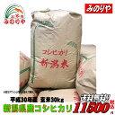 30年産新潟県産 コシヒカリ 玄米 30kg お米 【smt...