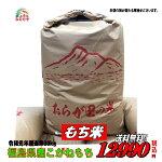 ★送料無料!平成24年産みのりや厳選最高級餅米玄米30Kg