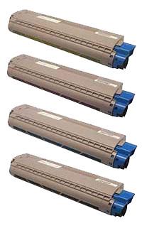 商品名:MIKASAリサイクルトナー参考型名:TNR-C3L K2,C2,M2,Y2よりどり4本セットリサイクルトナー(沖データ)(C811dn、C841dn)
