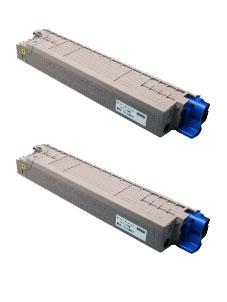 商品名:MIKASAリサイクルトナー参考型名:TC-C3BY1 イエロー リサイクルトナー2本セット(沖データ)(C824dn/C835dnw/C835dnwt/C844dnw)<リターン方式>