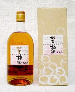 和のリキュールの先駆者萬歳楽 加賀梅酒 720ml【楽ギフ_包装】【楽ギフ_のし】