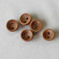 木(ウッド)ボタン OW3700-1 10mm 1個入